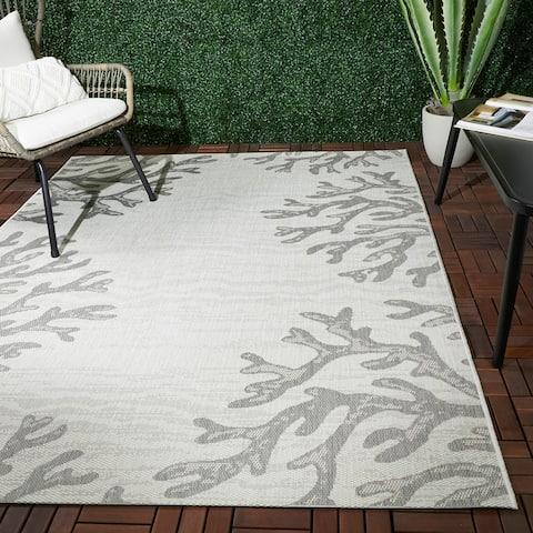 Rivera Coastal Coral Indoor/Outdoor Area Rug