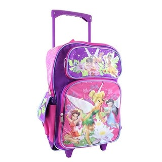 Disney Fairies Large Two Tone Rolling Backpack