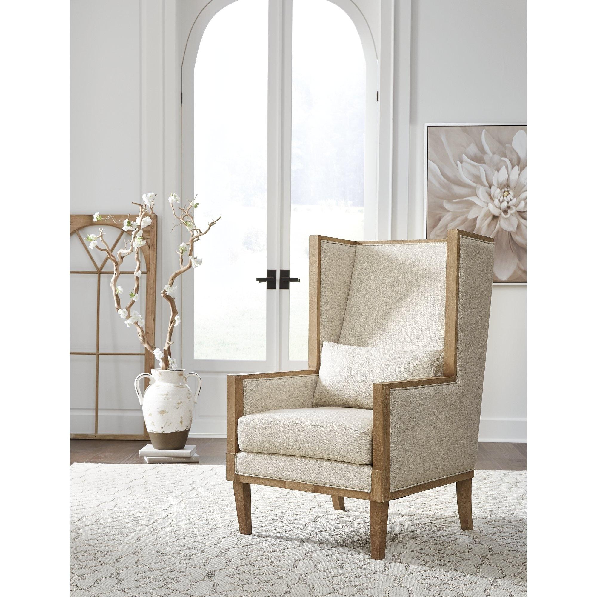 Modern Formal Living Room, Shop Avila Modern Farmhouse Linen Accent Chair 29 W X 32 D X 46 H On Sale Overstock 31851387