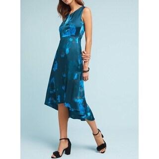 Anthropologie Tracy Reese Asymmetrical Silk Dress