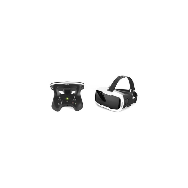 Parrot FPV Pack - Skycontroller 2 and Cockpit Glasses - Black and White FPV Pack - Skycontroller 2 and Cockpit Glasses, Black