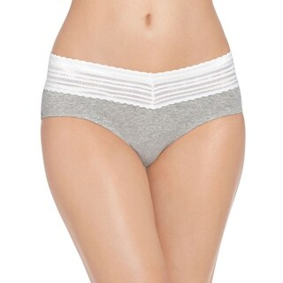Warner's Women's No Pinching No Problem Cotton Hipster With Lace