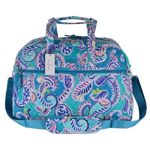 Vera Bradley WAIKIKI PAISLEY Grand Traveler Weekender Duffle Bag Purse