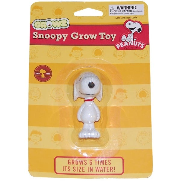 Peanuts Standing Snoopy Grow Figure - multi
