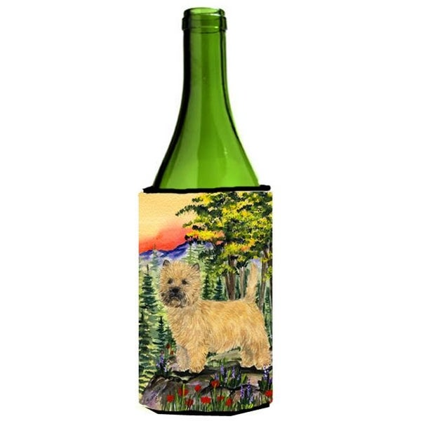 Carolines Treasures Cairn Terrier Wine bottle sleeve Hugger 24 oz