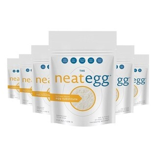 The Neat Egg Substitute Mix - Vegan (4.5 oz.) - 6 Pack