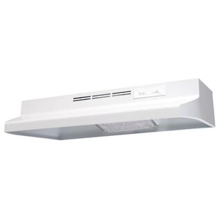 "Air King AD130 30"" 2 Speed 130 CFM Under Cabinet Hood with Charcoal Filter and 60W Incandescent Lighting"