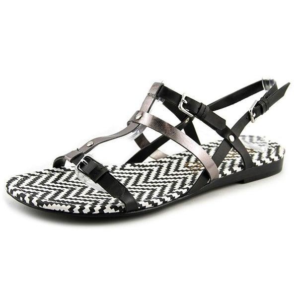 Nicole Sache   Open Toe Synthetic  Gladiator Sandal