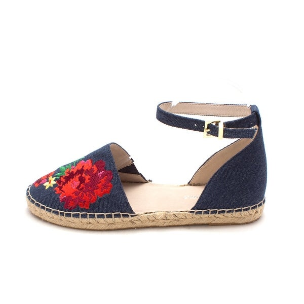 Kenneth Cole New York Womens blair Fabric Closed Toe Casual Espadrille Sandals