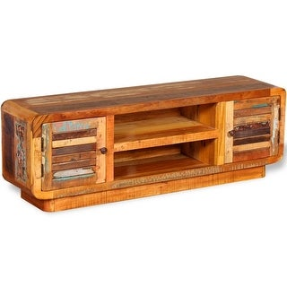 "vidaXL TV Cabinet Solid Reclaimed Wood 47.2""x11.8""x15.7"""