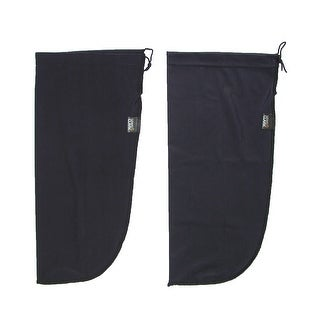 Lewis N Clark Protective Shoe Covers (Pack of 2) - Black