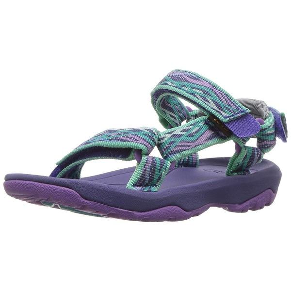 Kids Teva Girls Hurricane XLT 2   Ankle Strap Slide Sandals