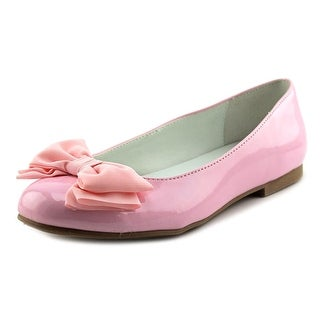 Nina Kids Danica Round Toe Patent Leather Flats