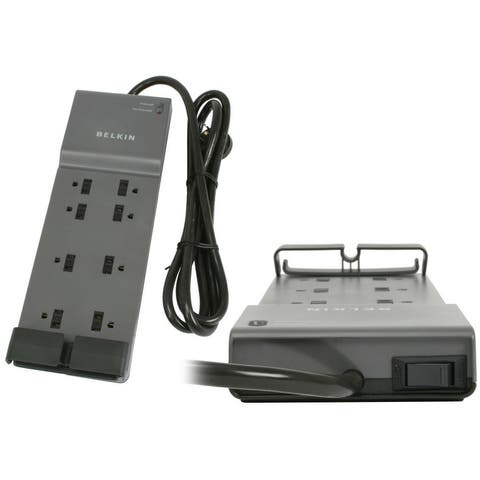 Belkin BE108200-06 8-Outlet Home Surge Protector with 6ft Cable Cord - NEW