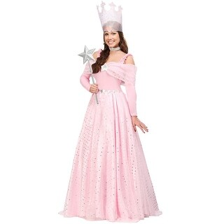 Deluxe Womens Pink Witch Dress Costume (4 options available)