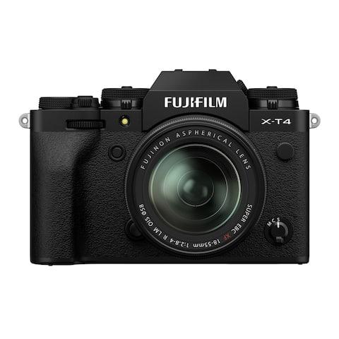 Fujifilm X-T4 Mirrorless Camera w/ XF 18-55mm f/2.8-4 Lens Kit (Black)