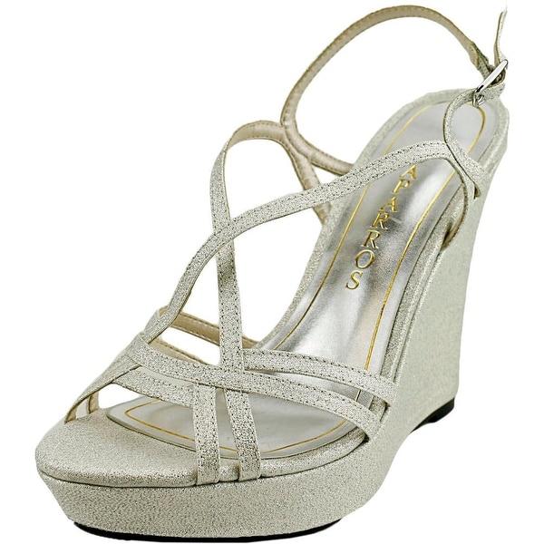 Caparros Shiloh Women Open Toe Synthetic Wedge Sandal
