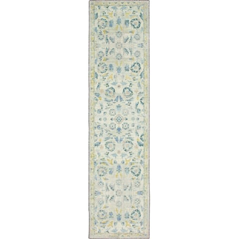 Mohawk Home Baikal Distressed Floral Area Rug