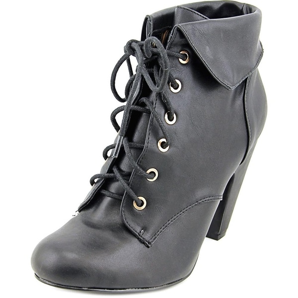 Dollhouse Mozza Round Toe Synthetic Ankle Boot
