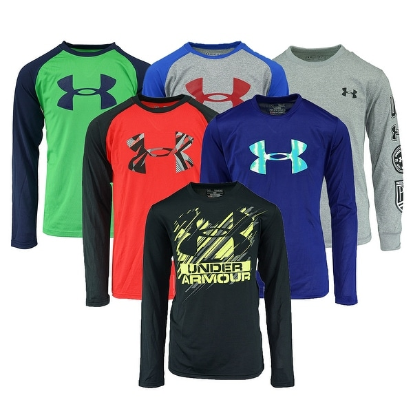 c1d224be8a50 Shop Under Armour Boys  Mystery L S T-Shirt - Assorted - On Sale - Free  Shipping On Orders Over  45 - - 25583508