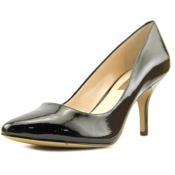 INC International Concepts Zitah Women Pointed Toe Synthetic Black Heels