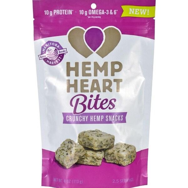 Manitoba Harvest Hemp Heart Bites - Original - 1.6 oz - Case of 12