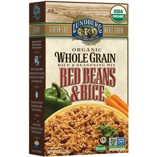 Lundberg Family Farms - Red Beans & Whole Grain Rice ( 6 - 6 oz bags)