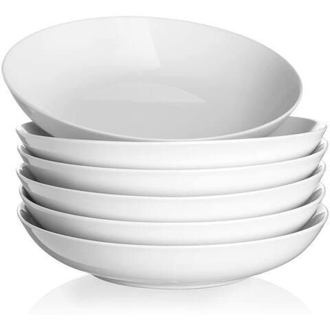 Y YHY 40oz Pasta Bowls, Large Salad Pasta Bowl Set of 6