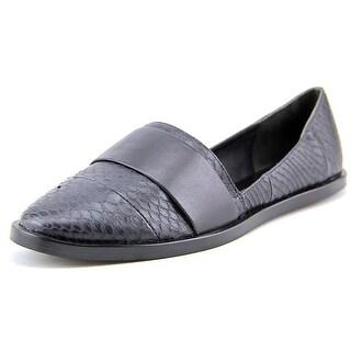 Vince Mason-2 Round Toe Leather Flats