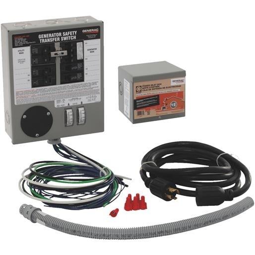 Generac Power Systems 30A Manual Trans Sw Kit 6294 Unit: EACH