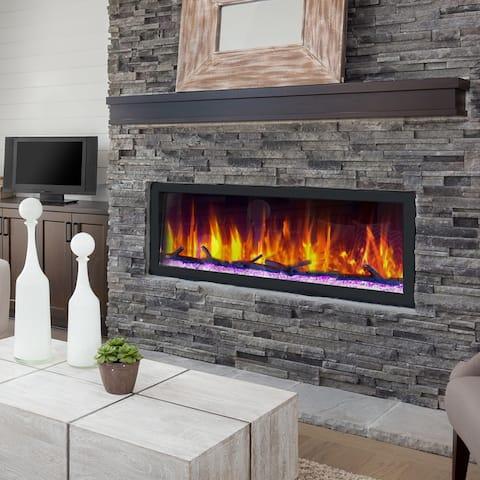 Dynasty Cascade 52 in. Smart Control Electric Fireplaces -BTX52 - 52.5