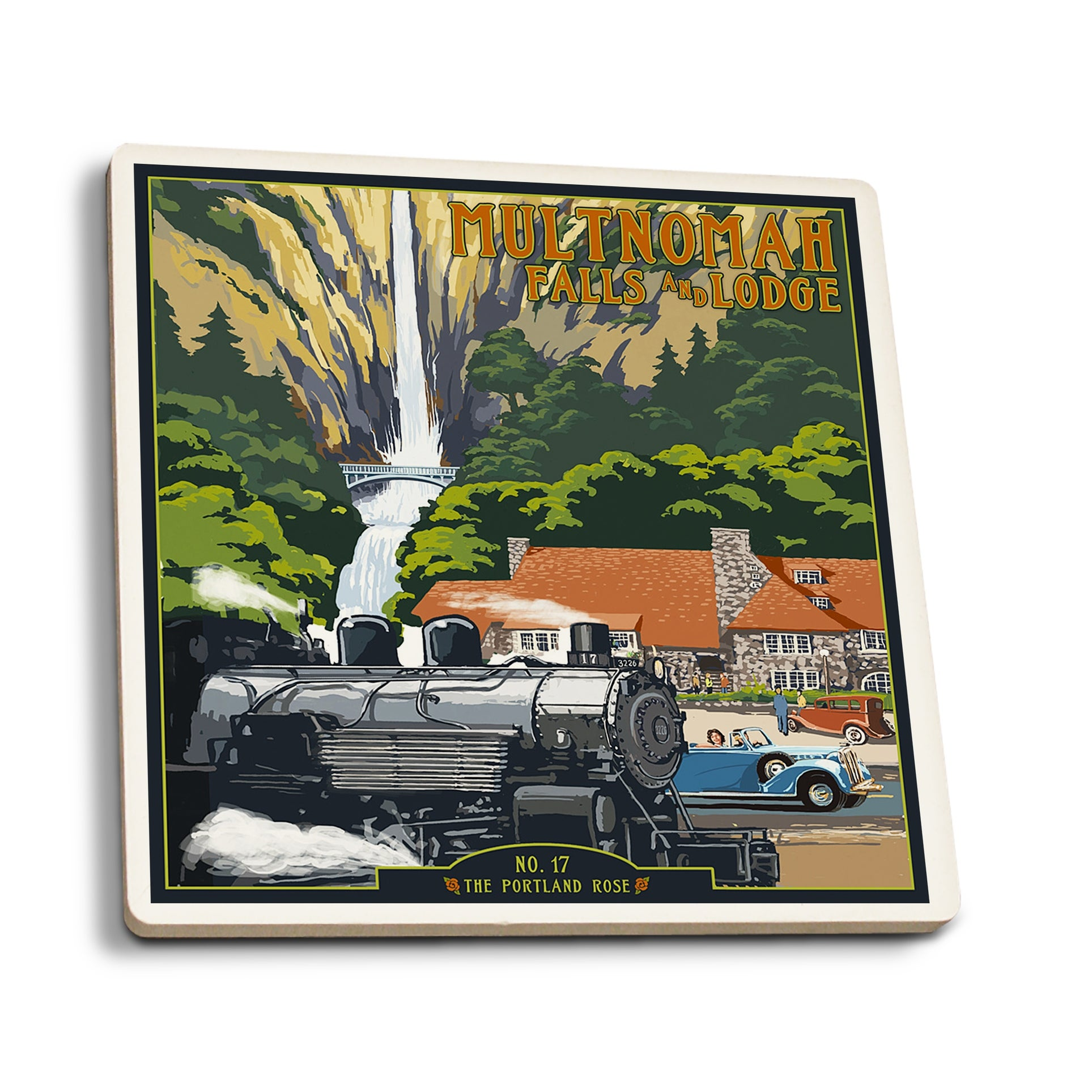 Family is Everything Ceramic Absorbent Car Coaster FREE SHIPPING