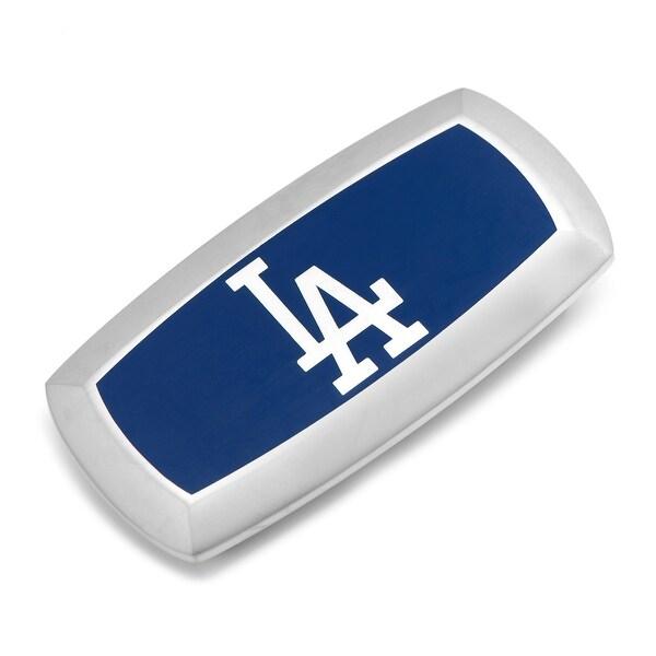 LA Dodgers Cushion Money Clip