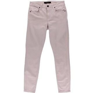 Genetic Womens Daphne Mid-Rise Five-Pocket Skinny Crop Jeans - 27