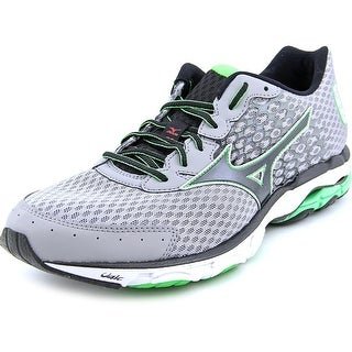 Mizuno Wave Inspire 11 Men Round Toe Synthetic Gray Running Shoe