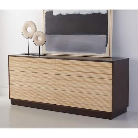 SAFAVIEH Couture Stassie 6-Drawer Cane Dresser Chest