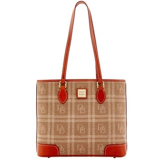 Dooney & Bourke DB Plaid Jacquard Richmond (Introduced by Dooney & Bourke at $228 in Jul 2016) - Tan
