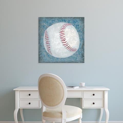 Easy Art Prints Studio W's 'Grunge Sporting III' Premium Canvas Art
