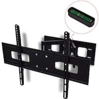 "vidaXL Double-arm Tilt/Swivel Wall Mount Bracket 3D 23.6 x 15.7"" for 37 - 70"" TV"