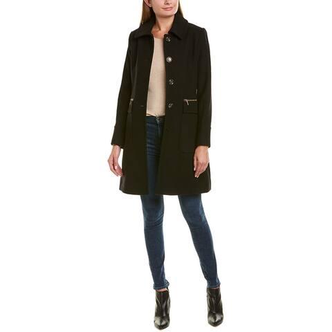 Trina By Trina Turk Hope Wool-Blend Coat
