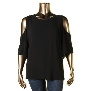 Vince Camuto Womens Casual Top Crepe Hi-Low - xL