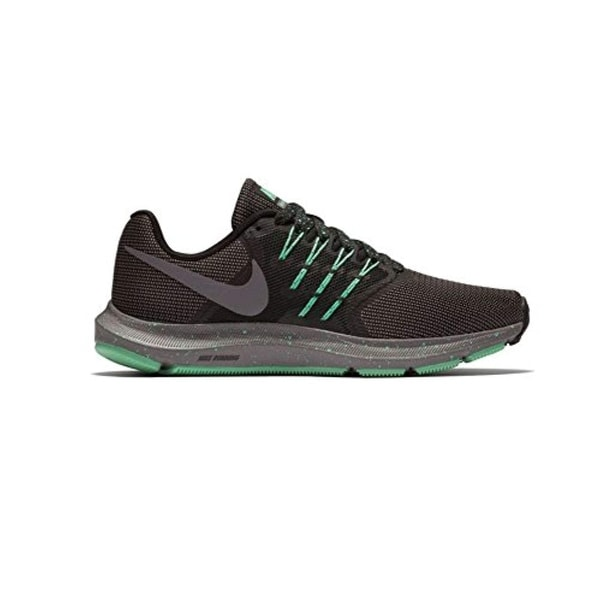3708bc028475c Shop Nike Women s Run Swift Se Running Shoe Black Gunsmoke Green Glow Size  7.5 M Us - Free Shipping Today - Overstock - 26432646