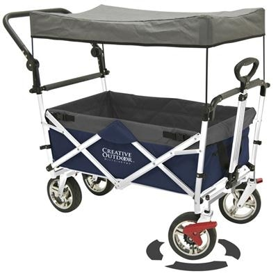 Shop Push And Pull 900550 Kids Collapsible Wagon Stroller