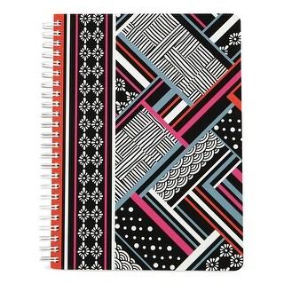 Vera Bradley Womens Mini Notebooks & Journals Striped Spiral Bound