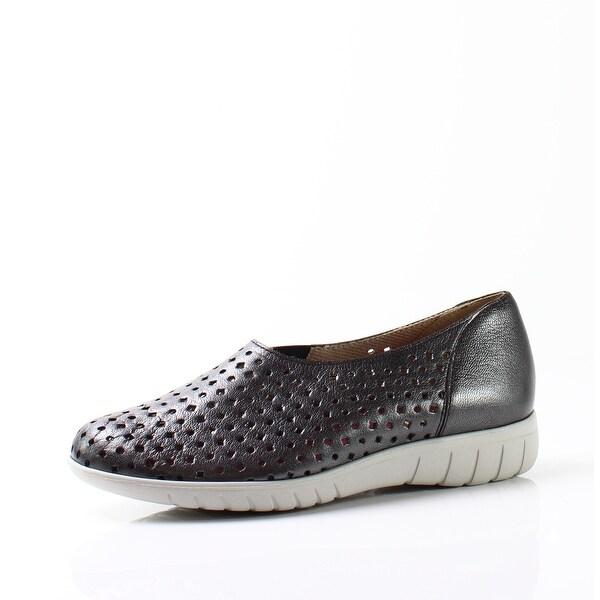 Munro NEW Black Women's Shoes Size 7M Skipper Metallic Sneaker