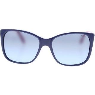 Polo Ralph Lauren Womens Gradient Non-Polarized Rectangle Sunglasses - o/s