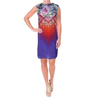 Gottex Womens Silk Sleeveless Casual Dress
