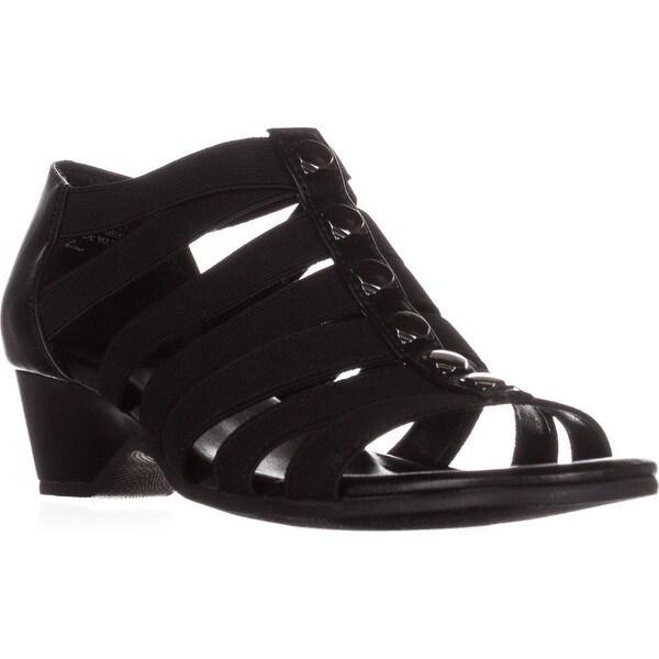Bella Vita Paula II Strappy Comfort Sandals, Black