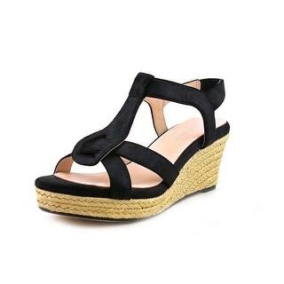 Taryn Rose Karalee Women  Open Toe Leather  Wedge Sandal