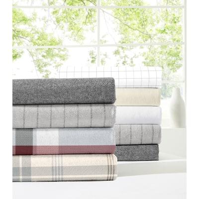 Dormisette Luxury Flannel 3-piece Cotton Duvet Cover Set